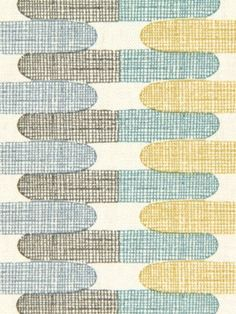 Aqua Gray Contemporary Upholstery Fabric  by greenapplefabrics, $21.00 - for armchair?