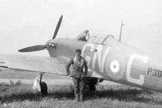 George Barclay RAF Squadron Leader Battle of Britain kept a secret diary survived being shot down three times fourth time died over El Alamein Air Force Aircraft, Ww2 Aircraft, Fighter Aircraft, Fighter Jets, Military Aircraft, Cienfuegos, Air Force Pictures, North African Campaign, Hawker Hurricane