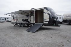 TOY HAULER OF YOUR DREAMS 2017 Keystone Fuzion 345 Relax after an active day outdoors in this