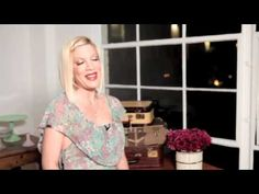 Plan your next book club by using tips from Tori Spelling's celebraTORI party-planning book
