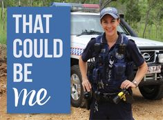 Meet Senior Constable Christine Beattie who is the sole Officer in Charge of an outback policing division that is square kilometres large. Police News, Division, Career, Meet, Board, Carrera