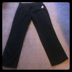 Converse Sweatpants NWOT - Bought these at an outlet and never wore them.  Thick fleece with Converse logo. Converse Pants Wide Leg