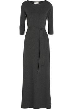 Cotton & modal-blend jersey maxi dress