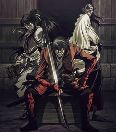 Drifters is bloody and action-packed.If you liked Hellsing then this one is for you. I thoroughly enjoyed watching this series and looking forward to Season 2.