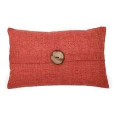 Check out this item at One Kings Lane! McKenzie 12x20 Pillow, Burnt Orange