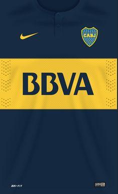 Boca Juniors 14-15 kit home #futbolbocajuniors