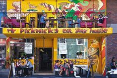 A restaurant on Long Street in Cape Town, South Africa yay! Boulder Beach, True Homes, Cape Town South Africa, Best Street Art, Baboon, African Culture, My Land, Small Towns, West Coast