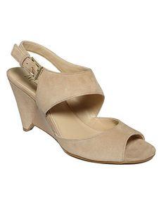 INC International Concepts Women's Shoes, Fama Wedge Sandals