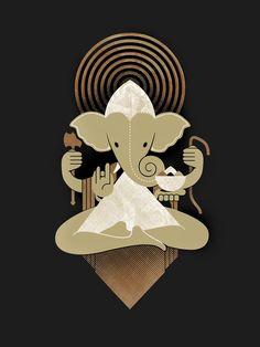 Birth story and symbolism of Lord Ganesha, spiritual meaning and importance in our life, Vinayak chaturthi festivals, etc. Shri Ganesh, Ganesha Art, Lord Ganesha, Lord Shiva, Om Gam Ganapataye Namaha, Om Art, Hindu Rituals, Hindu Deities, Elephant Art