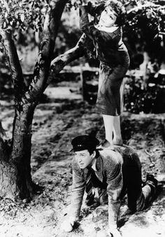 Claudette Colbert and James Stewart
