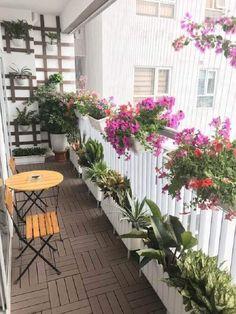 Narrow Balcony, Condo Balcony, Balcony Grill, Small Balcony Design, Small Balcony Garden, Vertical Garden Design, Small Balcony Decor, Apartment Balcony Decorating, Balcony Plants