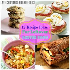 A roundup of 12 recipe ideas for using up leftover Easter eggs (not your usual egg salad)