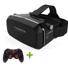 Find More 3D Glasses/ Virtual Reality Glasses Information about VR Shinecon 3D VR Glasses Universal Virtual Reality Free Controller Video Glasses For iPhone Smartphone + T3+ Bluetooth Gamepad,High Quality glasses strap,China glasses optical Suppliers, Cheap video glasses av from Guangzhou Etoplink Co., Ltd on Aliexpress.com