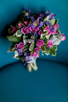 Purple and Green Bouquet | photography by http://shanewelch.com