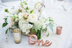 Large Rose Gold Wooden Wedding Table Numbers - for Rent Unique Centerpieces, Wedding Table Centerpieces, Wedding Table Numbers, Flower Centerpieces, Wedding Decorations, Table Decorations, Centerpiece Ideas, Wooden Table Numbers, Beach Wedding Flowers