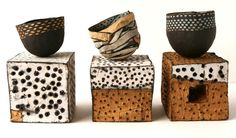 nice pieces by hungarian-born ceramic artist   judit varga .     through artpropelled .     ***     szép darabok judit varga ...
