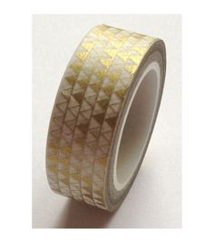 Love My Tapes Washi Tape Triangles Metallic Gold