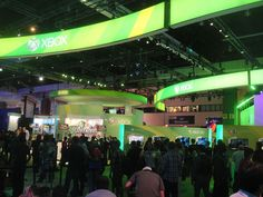 E3 Expo 2012 - Microsoft booth by Pop Culture Geek, via Flickr