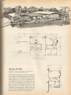 vintage house plans j271 40s 50s 60s 70s home buying 2
