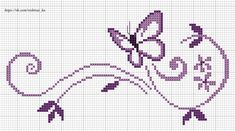 Newest Free Cross Stitch butterfly Tips Considering I am combination regular sewing since I was a girl My partner and i occasionally presume that eve Cross Stitch Letters, Cross Stitch Borders, Modern Cross Stitch, Cross Stitch Designs, Cross Stitching, Cross Stitch Embroidery, Butterfly Cross Stitch, Cross Stitch Flowers, Cross Stitch Pattern Maker