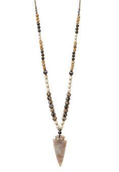 Arrowhead Pendant Necklace #Love