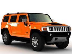 Hummer H3 in Dutch Orange