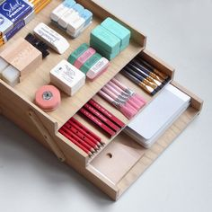 Best stationery ideas -  5S stationary #Lean #workplace #organisation