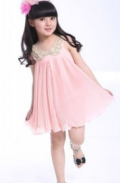 Sequin Peter Pan Collar Accordion Pleat Dress
