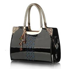Snug star TopHandle Handbag Crossbody Bag Shoulder Bag for Women Black * Check out the image by visiting the link.Note:It is affiliate link to Amazon.