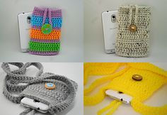 Phone Cozy and Sling Pattern now available on Ravelry!