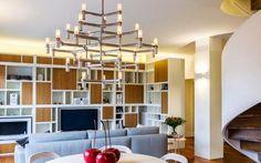 Tutto al posto giusto con stile in un appartamento di Milano!! Da vedere!! #architettura #design #funiture #interior