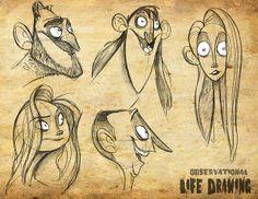 The Portfolio of Dan Seddon: Life Drawing