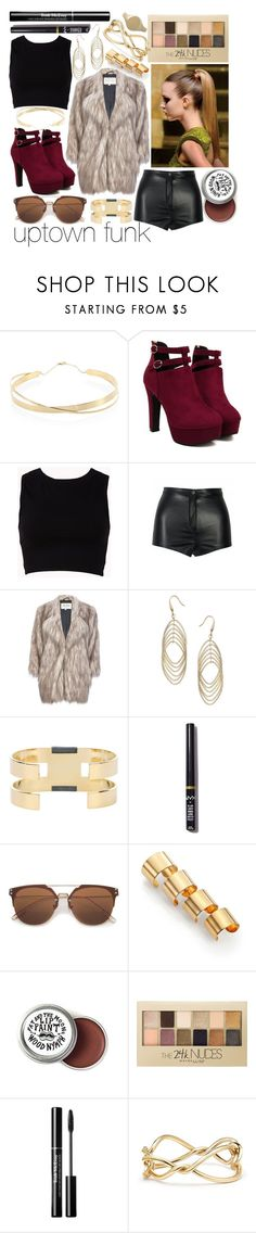 """""""Uptown Funk"""" by leonorgomes on Polyvore featuring Lana Jewelry, Forever 21, River Island, Dorothy Perkins, Isabel Marant, NYX, Maison Margiela, Maybelline and David Yurman"""
