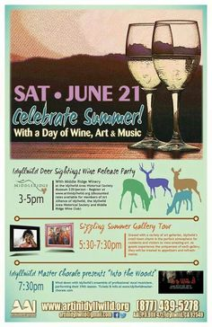 Celebrate Summer with a day of Wine, Art & Music, June 21, Idyllwild