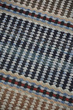 Loom Weaving, Hand Weaving, Recycled Fabric, Dobby, Woven Rug, Handmade Rugs, Scandinavian Style, Rag Rugs, Pattern Design