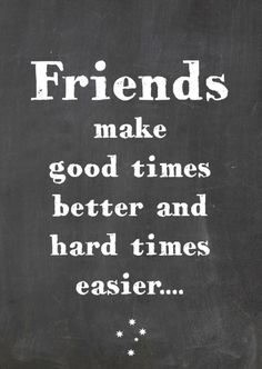 Een moderne vriendschapskaart met mooie tekst. Je kunt de tekst ook nog aanpassen. Have a nice day!