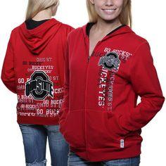 Ohio State Buckeyes Women's Collegiate Full Zip Hoodie - $34.99