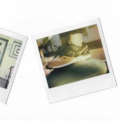 Nothing Is Impossible.  Model @iimouto. #filmbyfela #polaroidbyfela #shootfilm #streetstyle #blavity #blackisbeautiful #impossiblefilm #impossibleproject thank you @photographique_dallas for supplying me @impossible_hq Film for my Polaroid Spectra. Thank you @blvck_mom for supplying the amazing #fucktrump shirts . And @epochadallas for the Kicks .