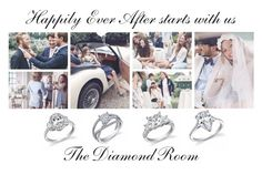 """Happily Ever After"" by the-diamond-room on Polyvore featuring GANT, engagement and diamondroombrides"