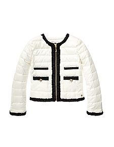 Little Girls Chic Quilted Puffer by Juicy Couture #kids #fashion
