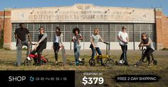 Fast electric scooters! Choose from 3 different electric scooter models with multiple color options. 20 mph for up to 20mi. Foldable design! Free 2day shipping!