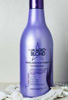 Matizador para Cabelos Loiros Perolado Platinado Magic Blond1