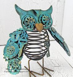 Steampunk Owl ~  - Cupcake's Creations