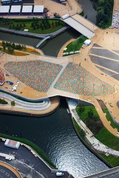 Central Park Bridge; F06 Pedestrian Bridge, Queen Elizabeth Olympic Park, London, UK by Heneghan Peng Architects