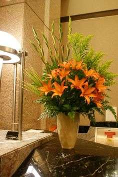 All fresh floral arrangements are meticulously refreshed throughout the weekly…
