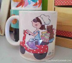 Pastelera, www.mundoilustrado.com