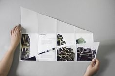 IN SITU, a collection of folding leaflets  revolving around European architecture