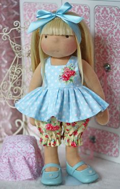 """Bloomin' Bloomers Outfit for 17"""" - 19"""" dolls"""