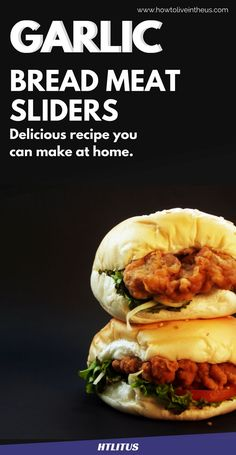 Check out this amazing garlic meatball slider dinner recipe! www.howtoliveintheus.com
