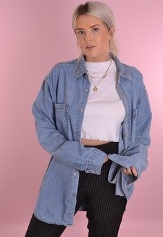 Levi's Denim Shirt GRL1316 | Port Girls | ASOS Marketplace